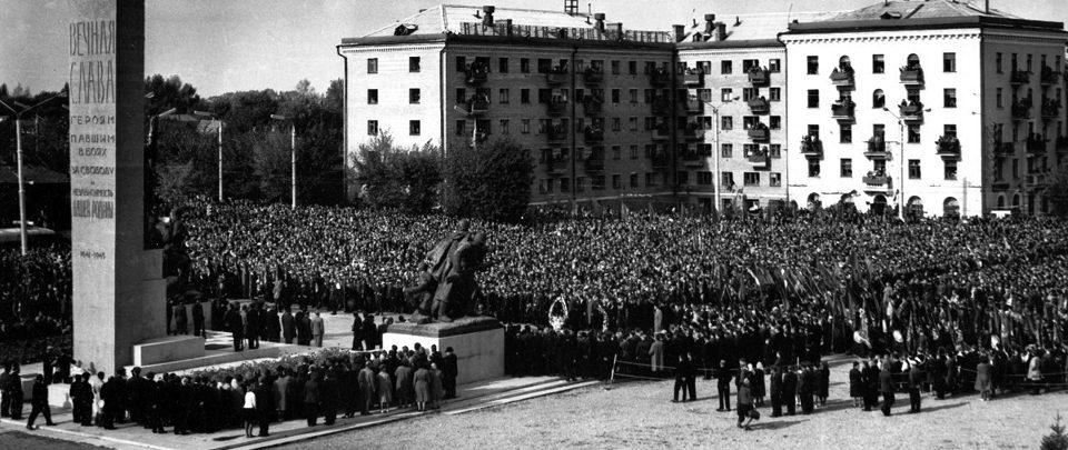 Открытие монумента