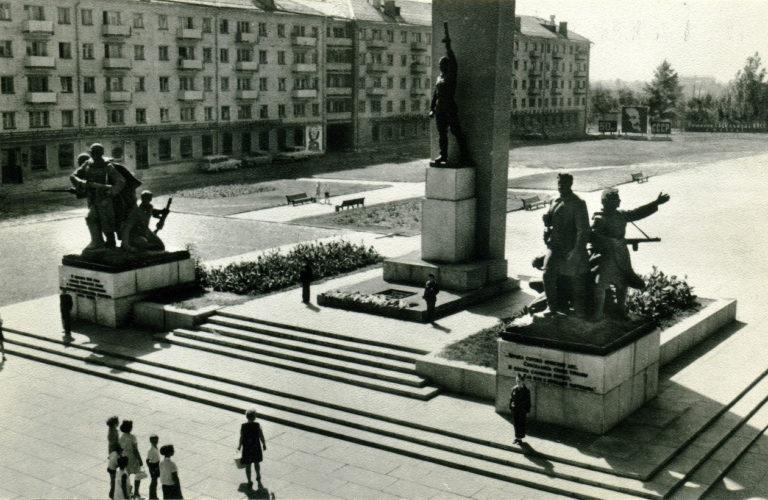 """1972-73 гг. © из коллекции """"Брянск глазами разных поколений"""""""