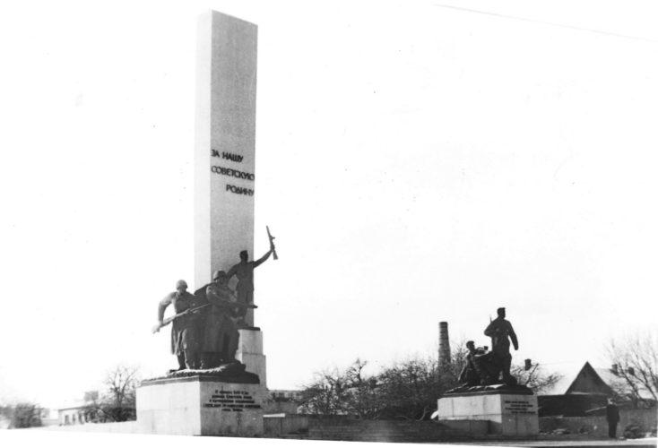 Площадь Партизан начала 1980-х гг. © фото Ю. Кащеева